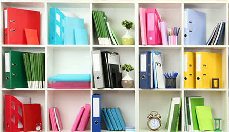 Office Space Organizers and Shelves